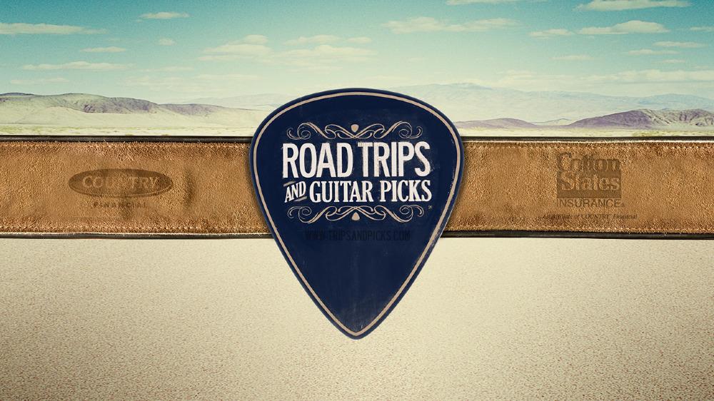Road Trips Guitar Picks