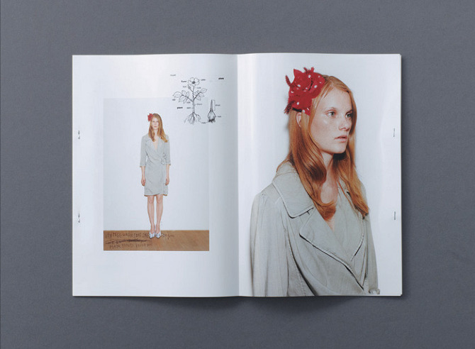 2 Dictionary SS 2010 by Rikako Nagashima in THISISPAPER MAGAZINE