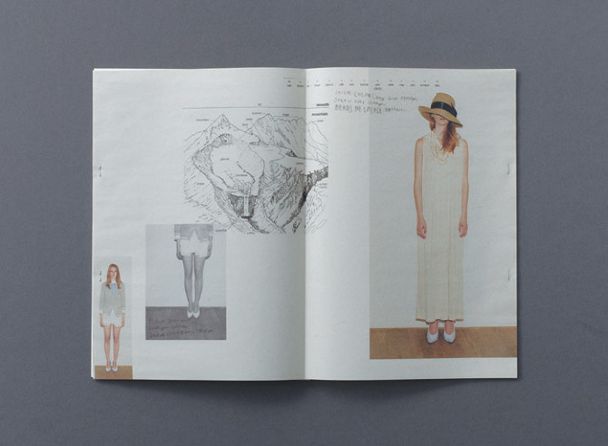 6 Dictionary SS 2010 by Rikako Nagashima in THISISPAPER MAGAZINE