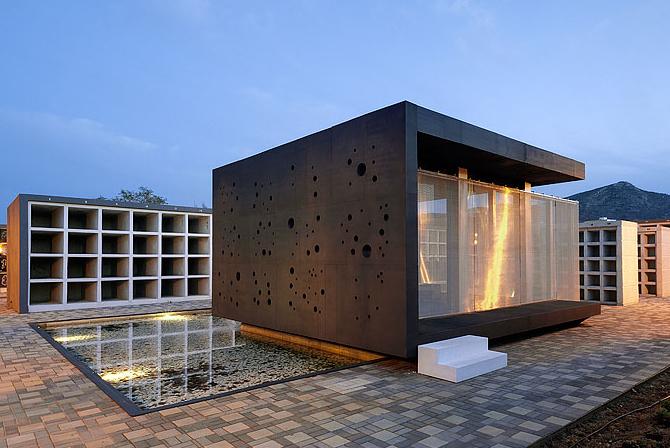 Espacio de meditaci n qb arquitectos for Arquitectura funeraria